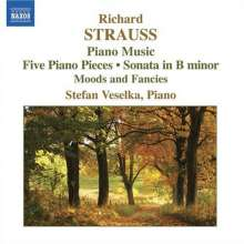 Richard Strauss (1864-1949): Klaviersonate h-moll op.5, CD