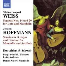 Silvius Leopold Weiss (1687-1750): Sonaten für Laute & Mandoline Nr.14 & 20, CD