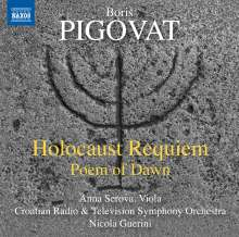 Boris Pigovat (geb. 1953): Holocaust Requiem, CD