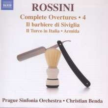 Gioacchino Rossini (1792-1868): Sämtliche Ouvertüren Vol.4, CD