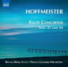 Franz Anton Hoffmeister (1754-1812): Flötenkonzerte Vol.1, CD