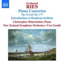 Ferdinand Ries (1784-1838): Klavierkonzerte Vol.5, CD
