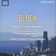 Ernest Bloch (1880-1959): America (Epic Rhapsody), CD