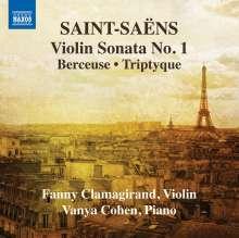 Camille Saint-Saens (1835-1921): Werke für Violine & Klavier Vol.1, CD