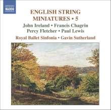 English String Miniatures 5, CD