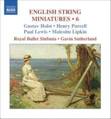 English String Miniatures 6, CD