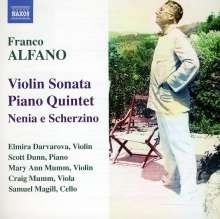 Franco Alfano (1875-1954): Sonate für Violine & Klavier in D, CD