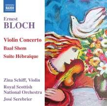 Ernest Bloch (1880-1959): Violinkonzert, CD