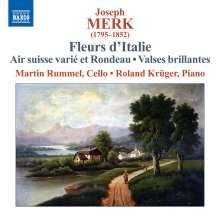 Josef Merk (1795-1852): Fleurs d'Italie - Fantaisies sur les Motifs les plus favoris d'Operas nouveux, CD