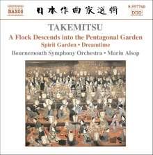 Toru Takemitsu (1930-1996): Spirit Garden, CD