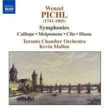 Wenzel Pichel (1741-1805): Symphonien Z.8,11,14,16, CD