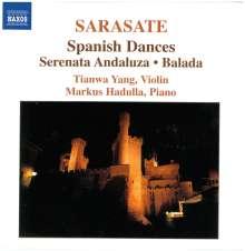 Pablo de Sarasate (1844-1908): Musik für Violine & Klavier Vol.1, CD