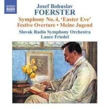 Josef Bohuslav Foerster (1859-1951): Symphonie Nr.4, CD