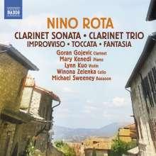 Nino Rota (1911-1979): Sonate für Klarinette & Klavier, CD