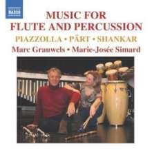 Musik für Flöte & Percussion, CD