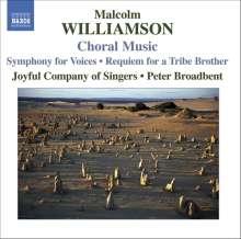 Malcolm Williamson (1931-2003): Chorwerke, CD