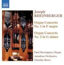 Josef Rheinberger (1839-1901): Orgelkonzerte Nr.1 & 2 (opp.137 & 177), CD