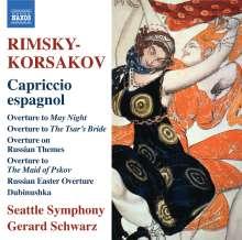 Nikolai Rimsky-Korssakoff (1844-1908): Capriccio Espagnol op.34, CD