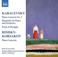Dimitri Kabalewsky (1904-1987): Klavierkonzert Nr.3, CD