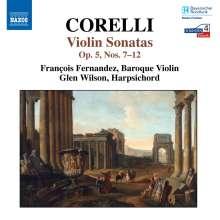 Arcangelo Corelli (1653-1713): Violinsonaten op.5 Nr.7-12, CD