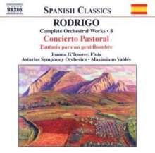 Joaquin Rodrigo (1901-1999): Orchesterwerke Vol.8, CD