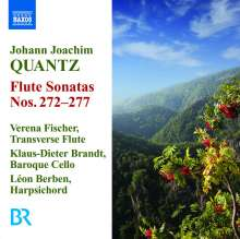 Johann Joachim Quantz (1697-1773): 6 Flötensonaten, CD