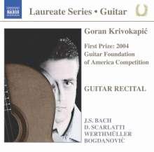 Goran Krivokapic - Guitar Recital, CD