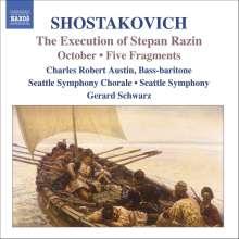 Dimitri Schostakowitsch (1906-1975): Die Hinrichtung des Stephan Rasin op.119, CD