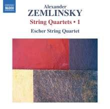 Alexander von Zemlinsky (1871-1942): Streichquartette Vol.1, CD