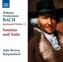 Wilhelm Friedemann Bach (1710-1784): Cembalowerke Vol.3, CD