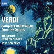 Giuseppe Verdi (1813-1901): Ballettmusik, 2 CDs