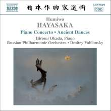 Humiwo Hayasaka (1914-1955): Klavierkonzert, CD