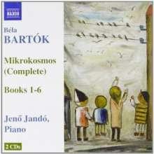 Bela Bartok (1881-1945): Mikrokosmos Sz.107, 2 CDs