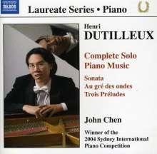 Henri Dutilleux (1916-2013): Sämtliche Klavierwerke, CD