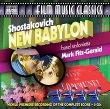 Dmitri Schostakowitsch (1906-1975): New Babylon-Filmmusik, 2 CDs