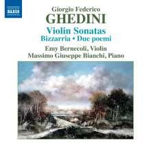 Giorgio Federico Ghedini (1892-1965): Sämtliche Werke für Violine & Klavier, CD