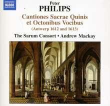 Peter Philips (1561-1628): Cantiones Sacrae Quinis et Octonibus Vocibus (1612 & 1613), CD