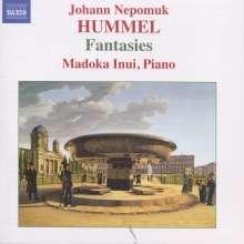 Johann Nepomuk Hummel (1778-1837): Fantasien für Klavier, CD