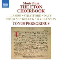 Tonus Peregrinus - The Eton Choirbook, CD