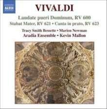 Antonio Vivaldi (1678-1741): Geistliche Musik Vol.2, CD