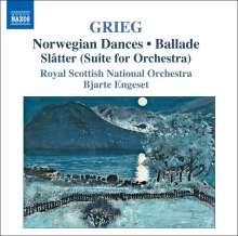 Edvard Grieg (1843-1907): Orchesterwerke, CD