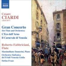 Cesare Ciardi (1818-1877): Flötenkonzert op.129, CD