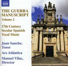 The Guerra Manuscript Vol.2, CD