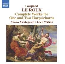 Gaspard le Roux (1660-1707): Werke für 1 & 2 Cembali, CD