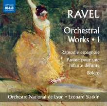 Maurice Ravel (1875-1937): Orchesterwerke Vol.1, CD