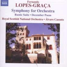 Fernando Lopes-Graca (1906-1994): Symphony for Orchestra, CD