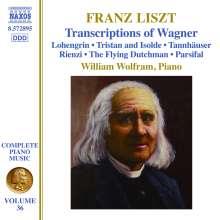 Franz Liszt (1811-1886): Klavierwerke Vol.36, CD