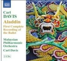 Carl Davis (geb. 1936): Aladdin (Ballett), 2 CDs
