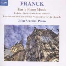 "Cesar Franck (1822-1890): Klavierwerke ""Early Piano Music"", CD"