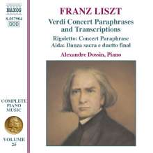 Franz Liszt (1811-1886): Klavierwerke Vol.25, CD